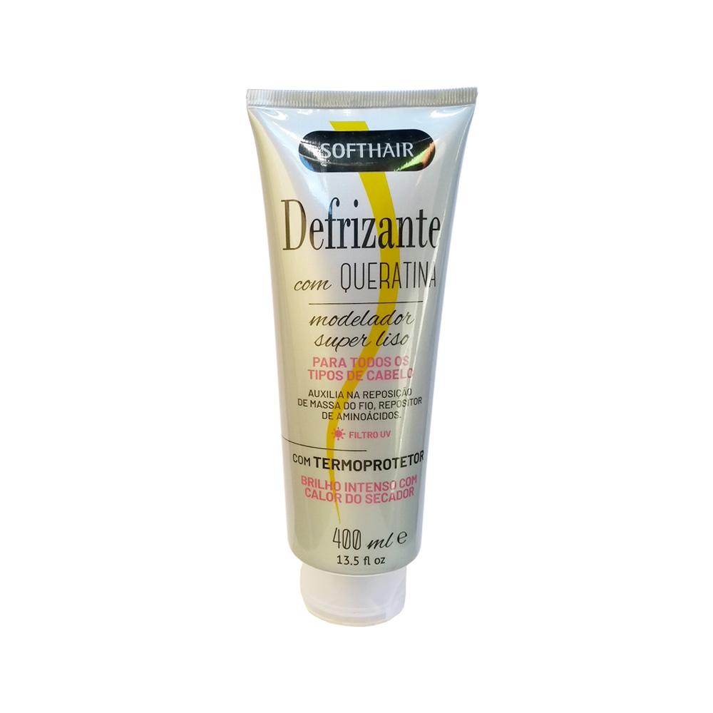defrizante softhair cinza queratina 400ml