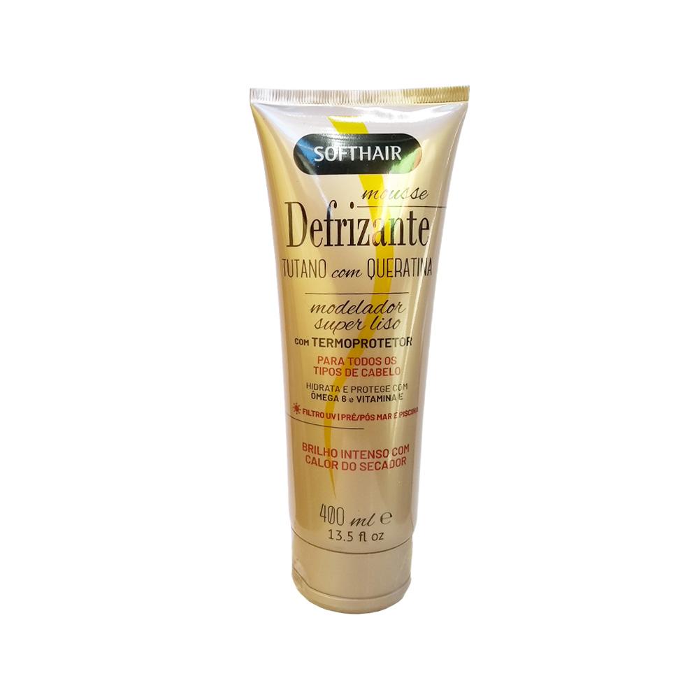 defrizante softhair tutano com queratina 400ml