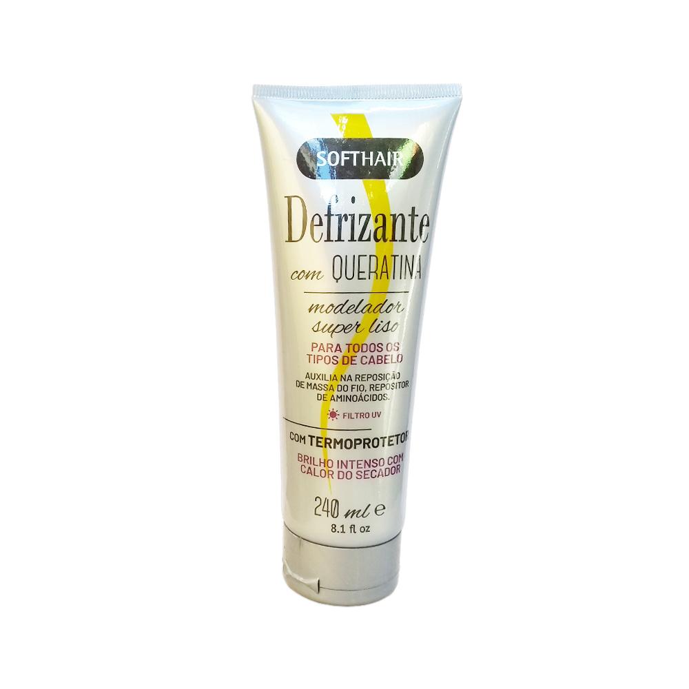 defrizante softhair cinza queratina 240ml un