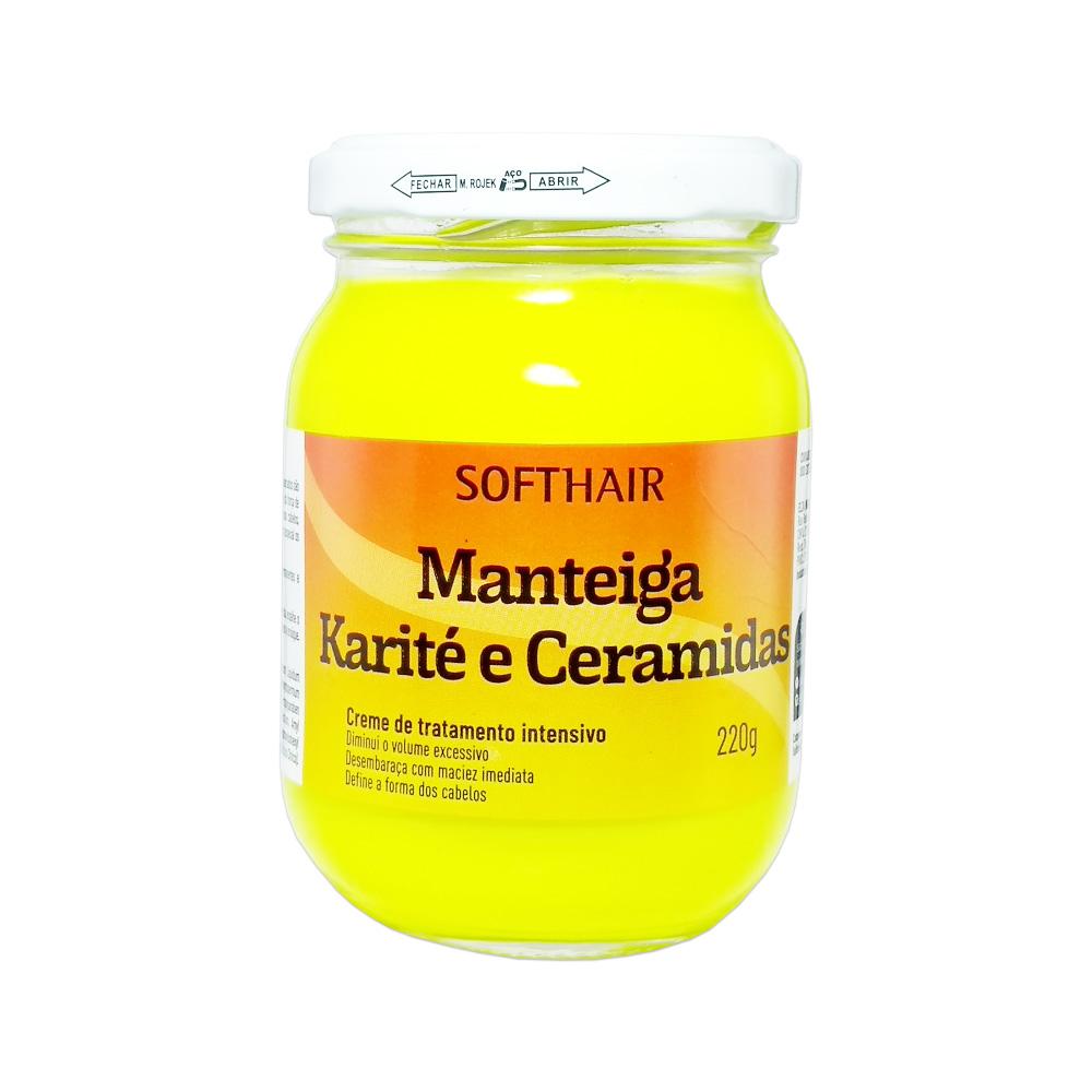 manteiga softhair karite e ceramidas 220g un