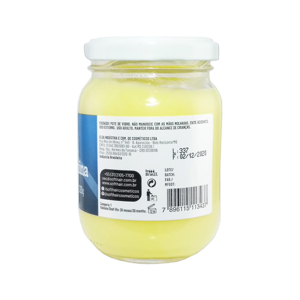manteiga softhair argan e arginina 220g un