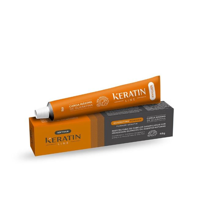 bisnaga softhair keratin line 48gr un