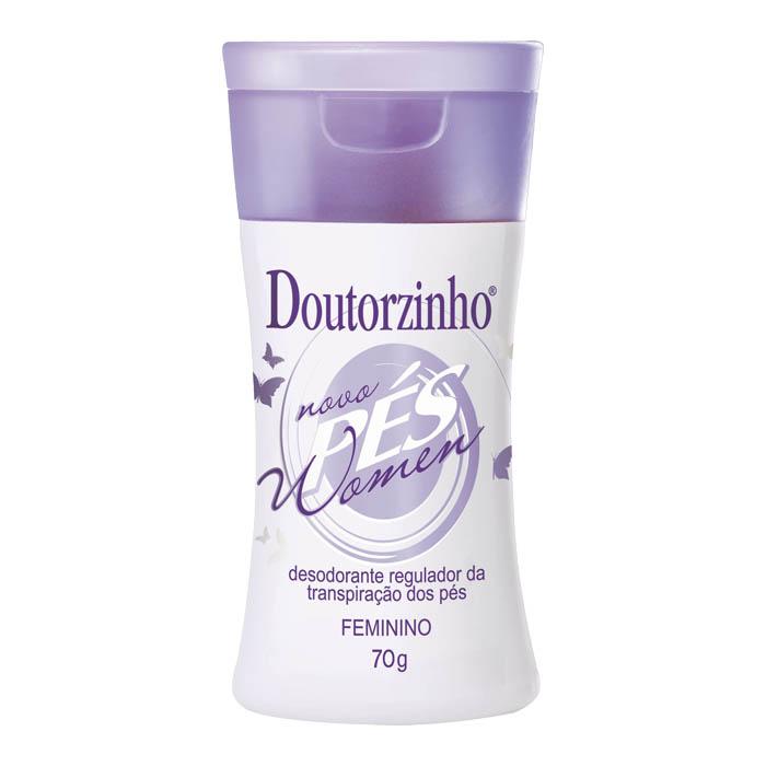 desodorante pes doutorzinho women 70g un