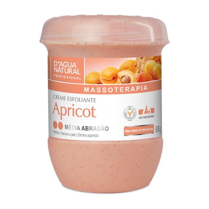 cr esfoliante d.natural 650gr apricot media un