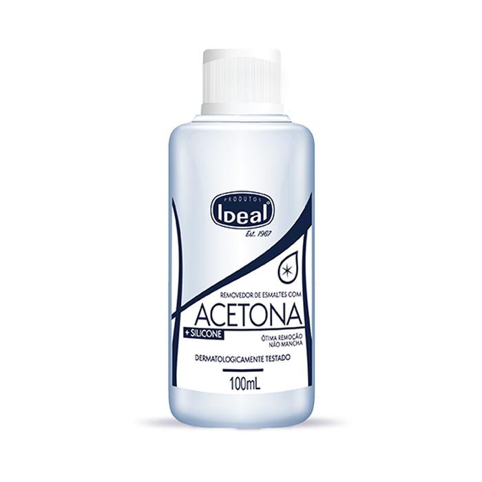 acetona ideal com silicone 100ml