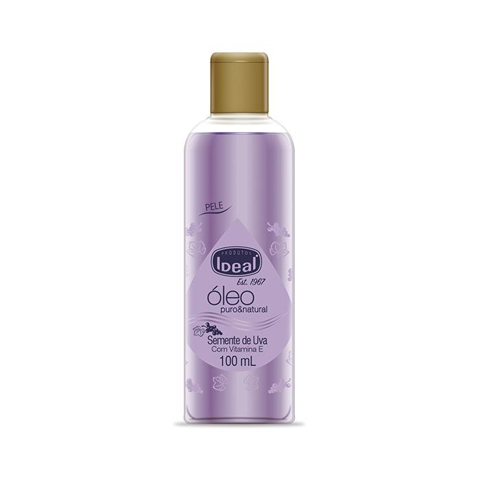 óleo corporal ideal semente de uva 100ml