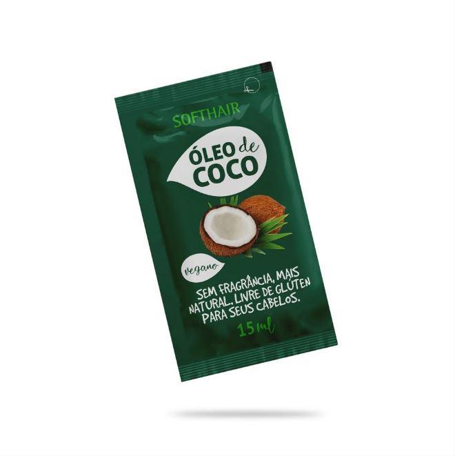 sache oleo coco softhair 20ml vegano 20un