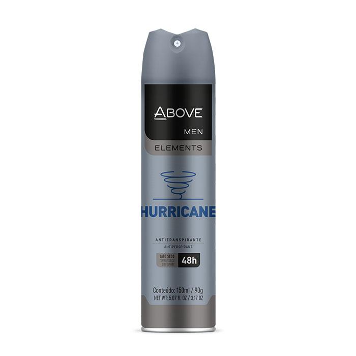 desedorante above elements hurricane - 150ml