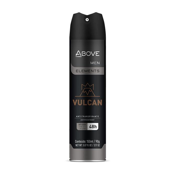 desodorante above elements vulcan - 150ml