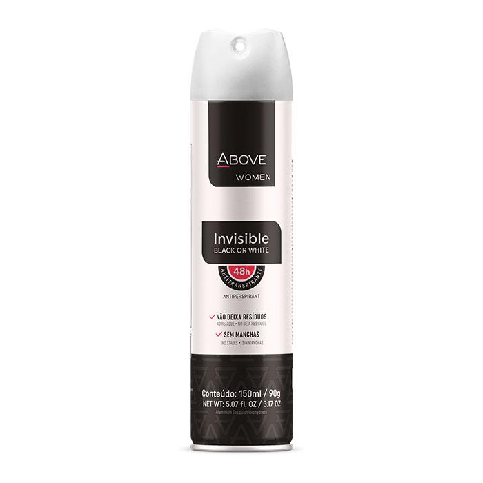 desodorante above women invisible - 150ml