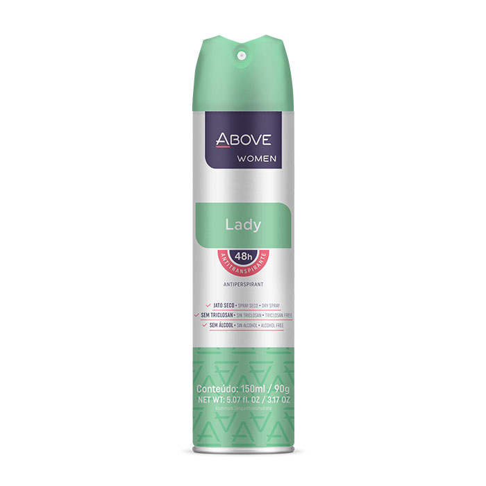 desodorante above lady - 150ml