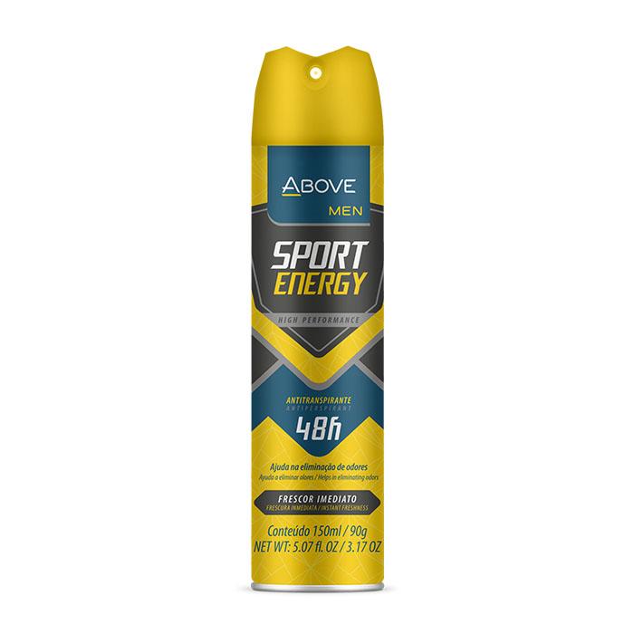desodorante above men sport energy - 150ml