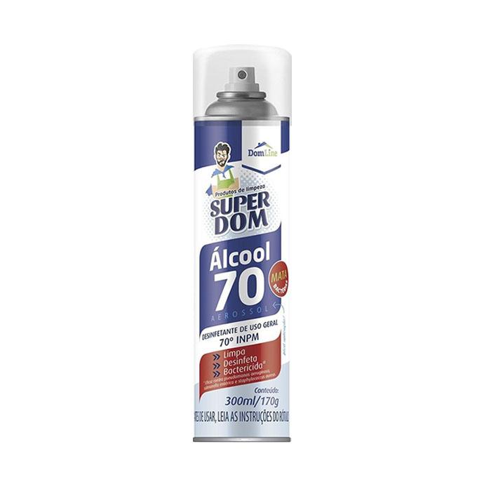 alcool aerosol above 70% super dom - 300ml