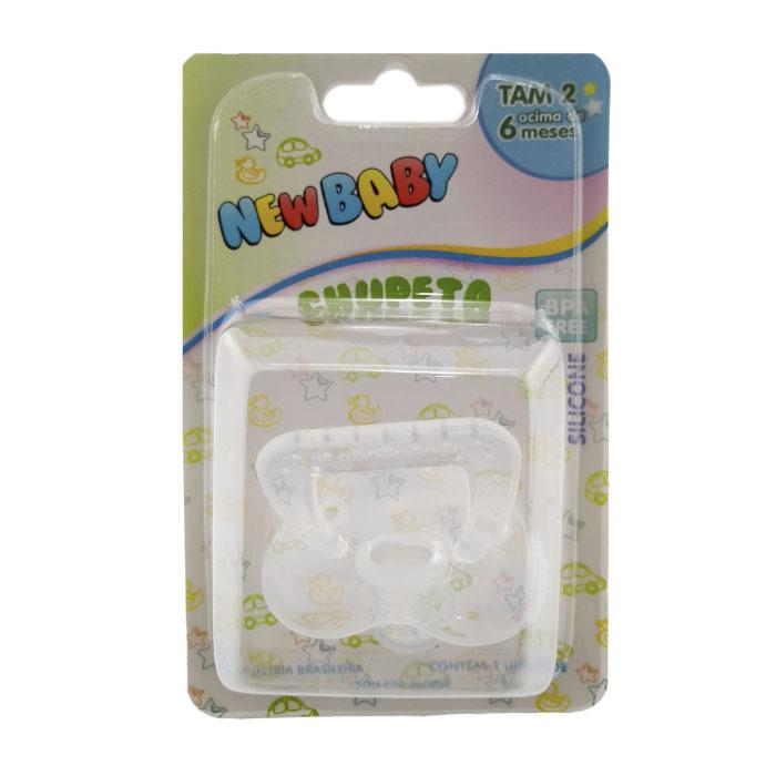 chupeta new baby soft n2 silicone 1un ref132 blister