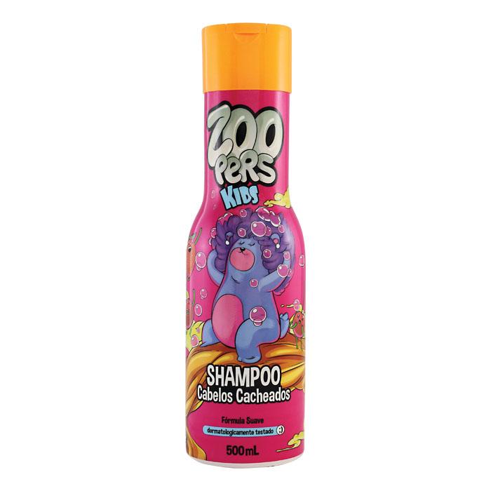 shampoo zoopers kids cabelos cacheados - 500ml