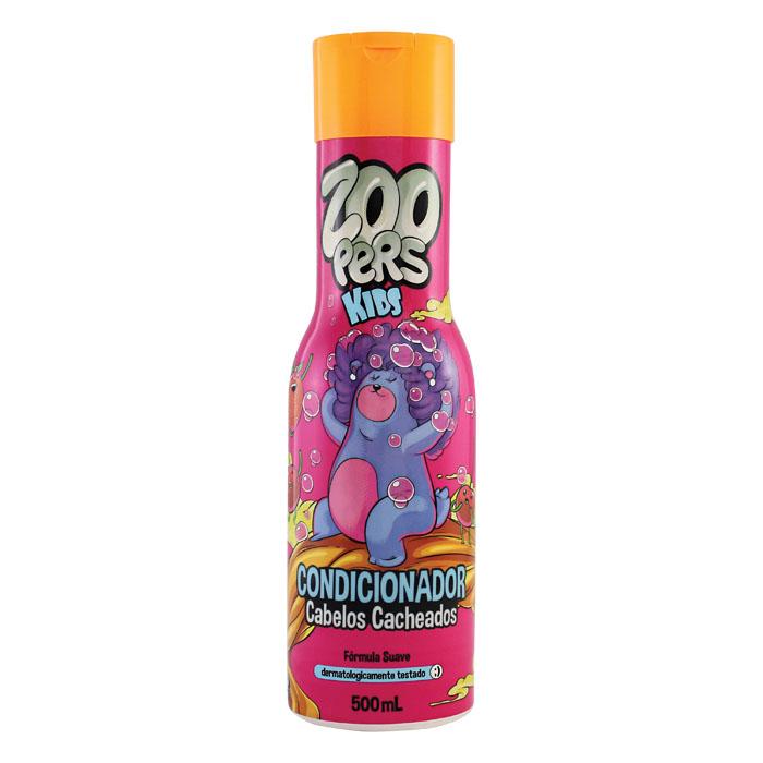 condicionador zoopers kids cabelos cacheados - 500ml