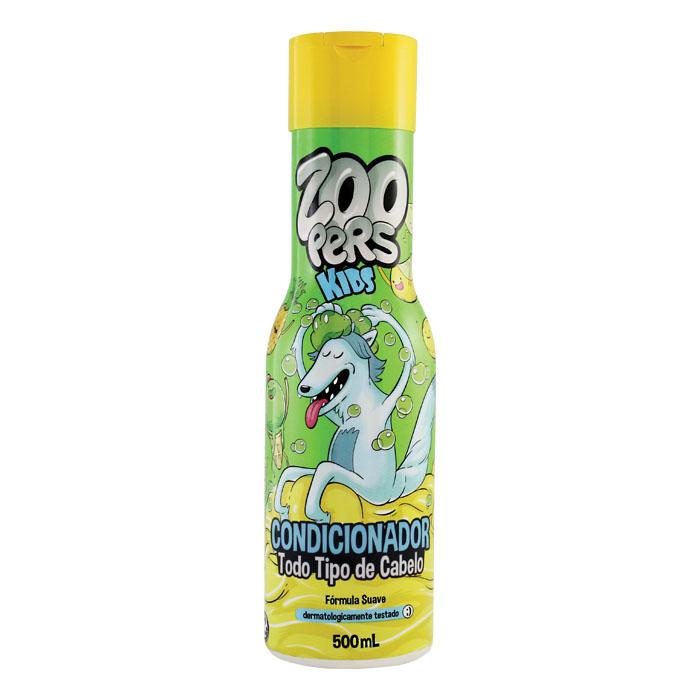 condicionador zoopers kids todo tipo cabelo suave - 500ml