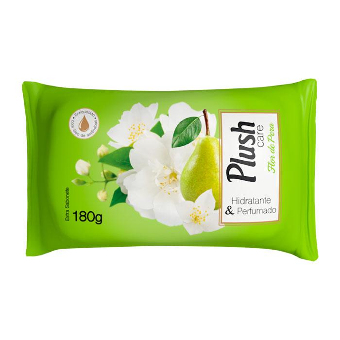 sabonete em barra plush care flor de pera 180g