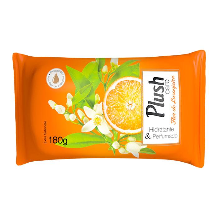 sabonete em barra plush care flor de laranjeira 180g