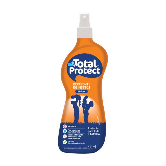 repelente spray total quimica protect 200ml