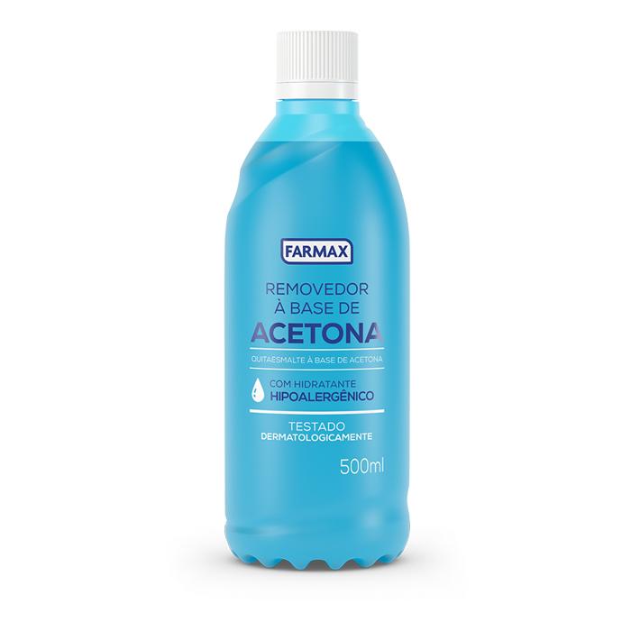 acetona farmax 500ml