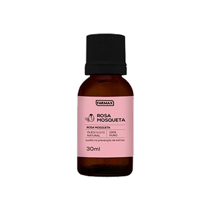 oleo rosa mosqueta puro farmax 30ml
