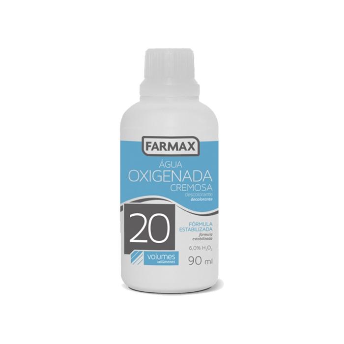 agua oxigenada cremosa farmax 20 volumes 90ml