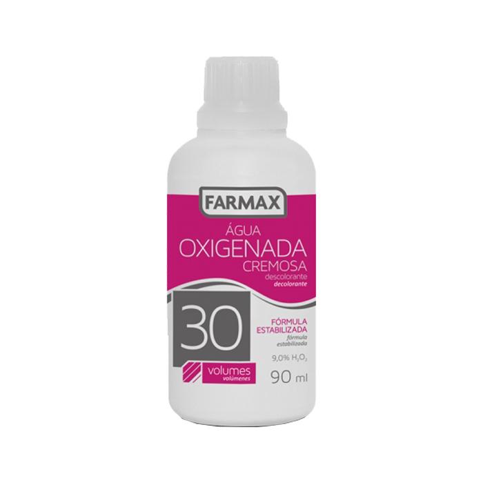 agua oxigenada cremosa farmax 30 volumes 90ml