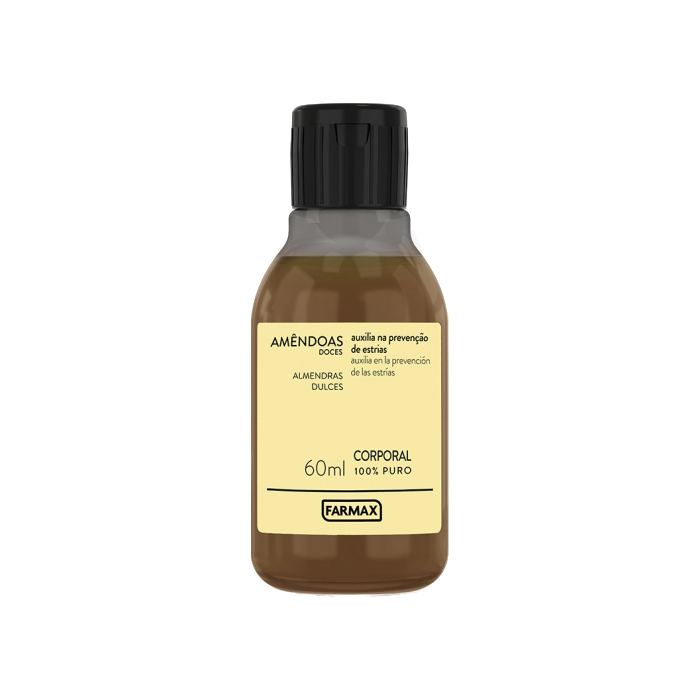 oleo corporal farmax puro amendoas 60ml