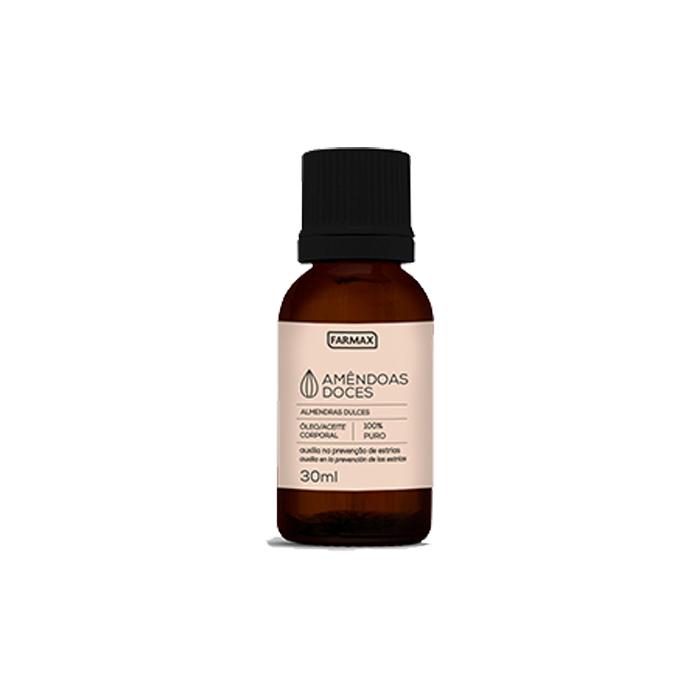oleo corporal farmax puro amendoas 30ml