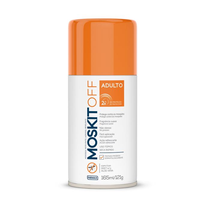 repelente aerosol farmax moskitoff 165ml