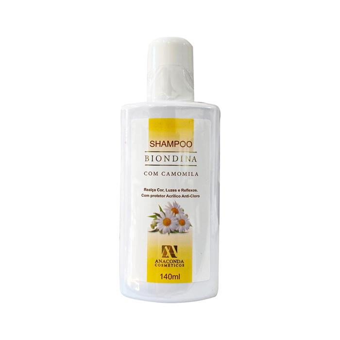 shampoo biondina com camomila 140ml