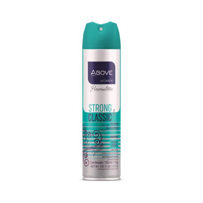 desodorante above personalities strong & classic - 150ml