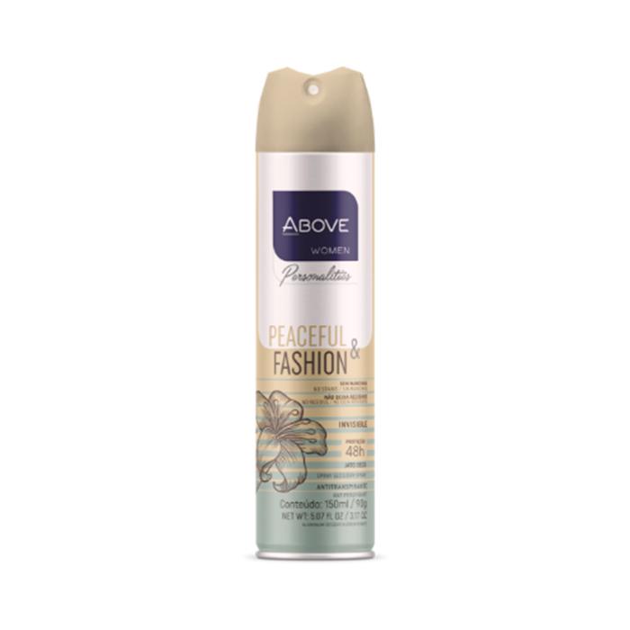 desodorante above personalities peaceful & fashion - 150ml