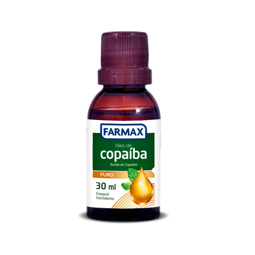 oleo corporal farmax copaiba 30ml