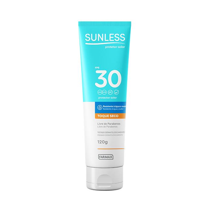 protetor solar fps30 sunless 120g