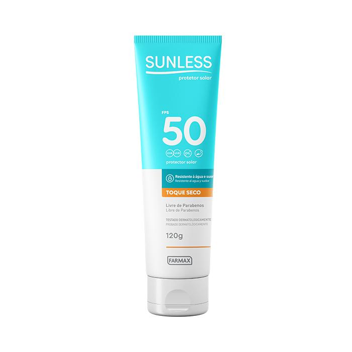 protetor solar fps50 sunless 120g