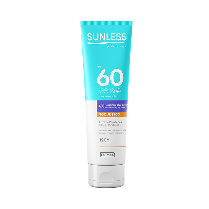 protetor solar fps60 sunless 120g