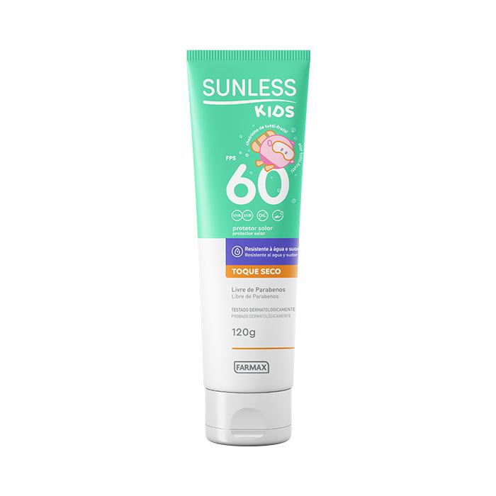 protetor solar kids fps60 sunless 120g
