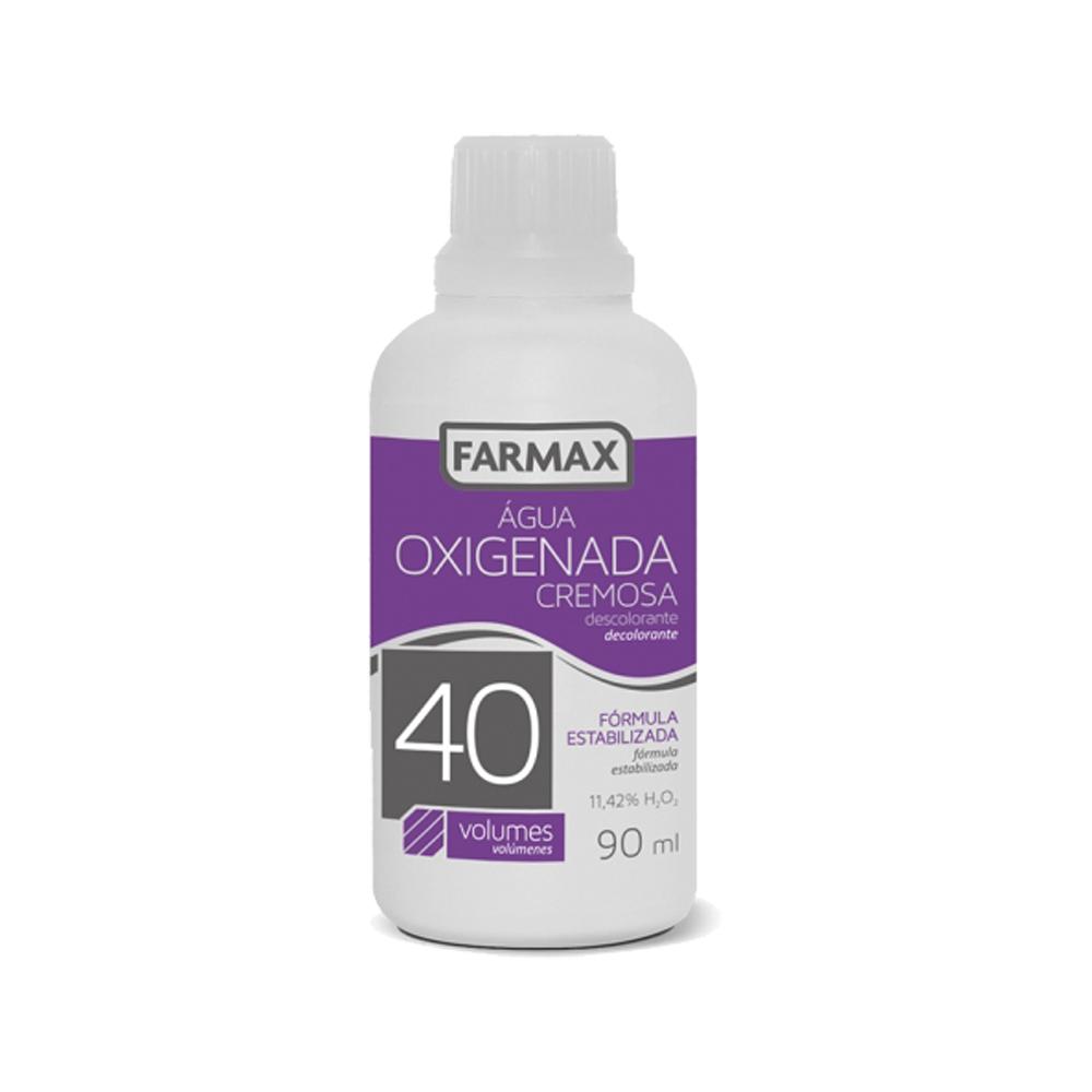 agua oxigenada cremosa farmax 40 volumes 90ml