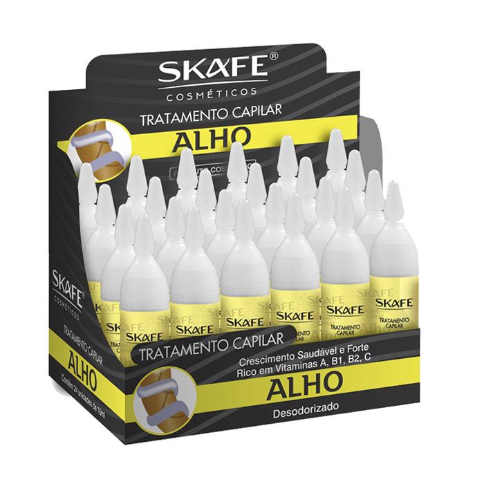 ampola skafe 10ml alho desodorizado 24un display