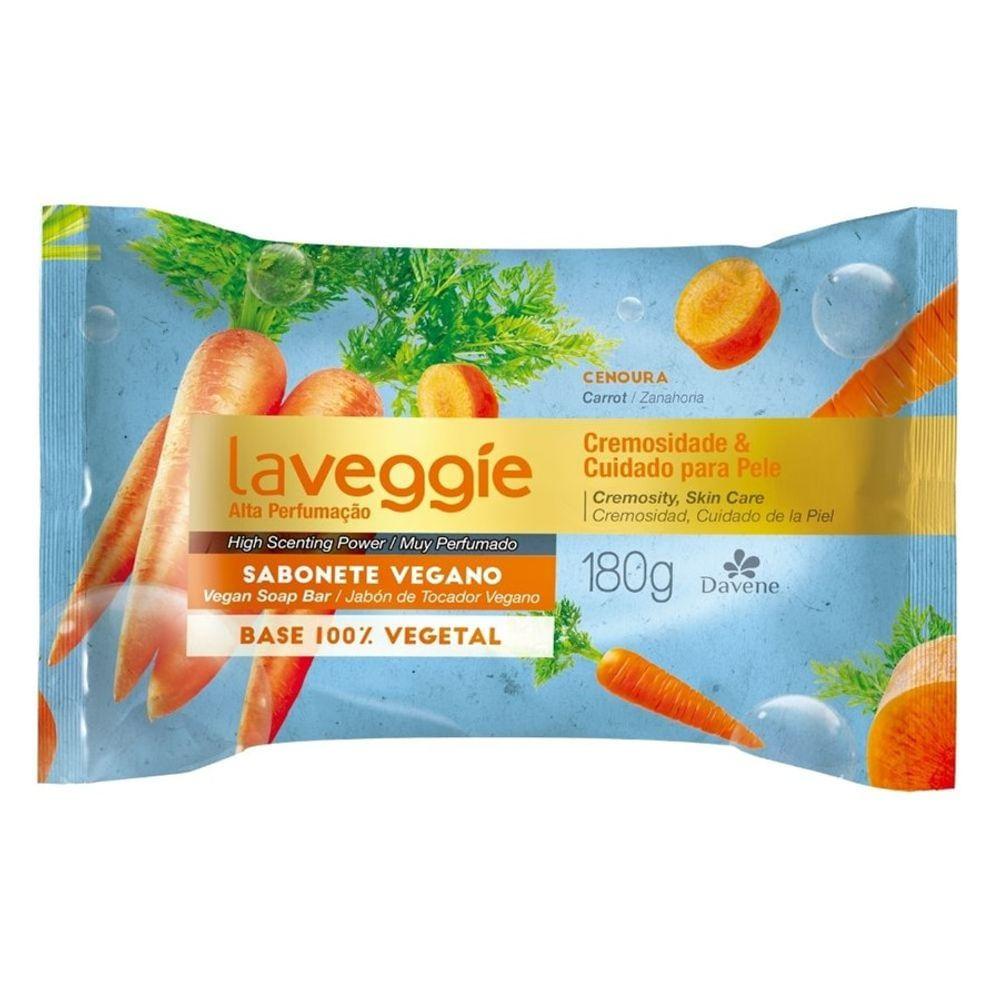 sab davene vegetal la veggie cenoura 180g un