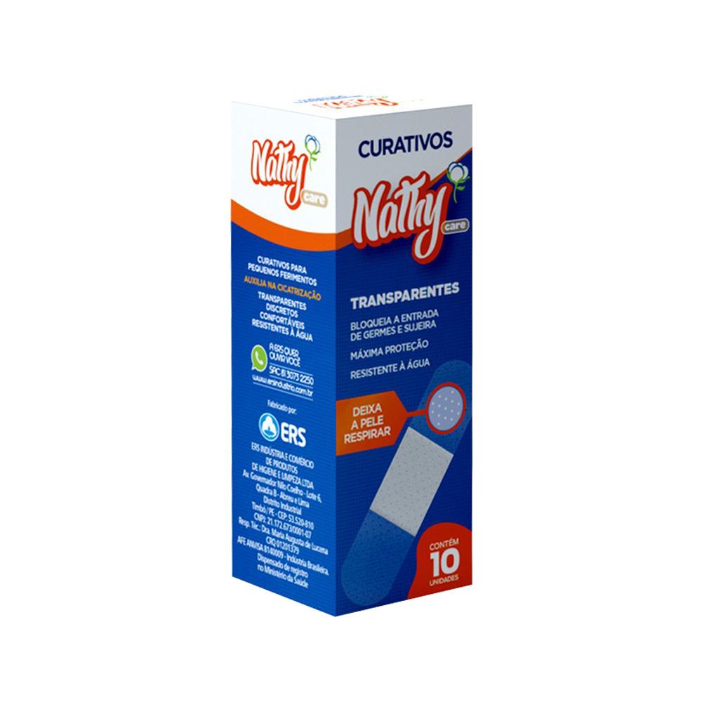 curativo adesivo nathy bege 10un cx un