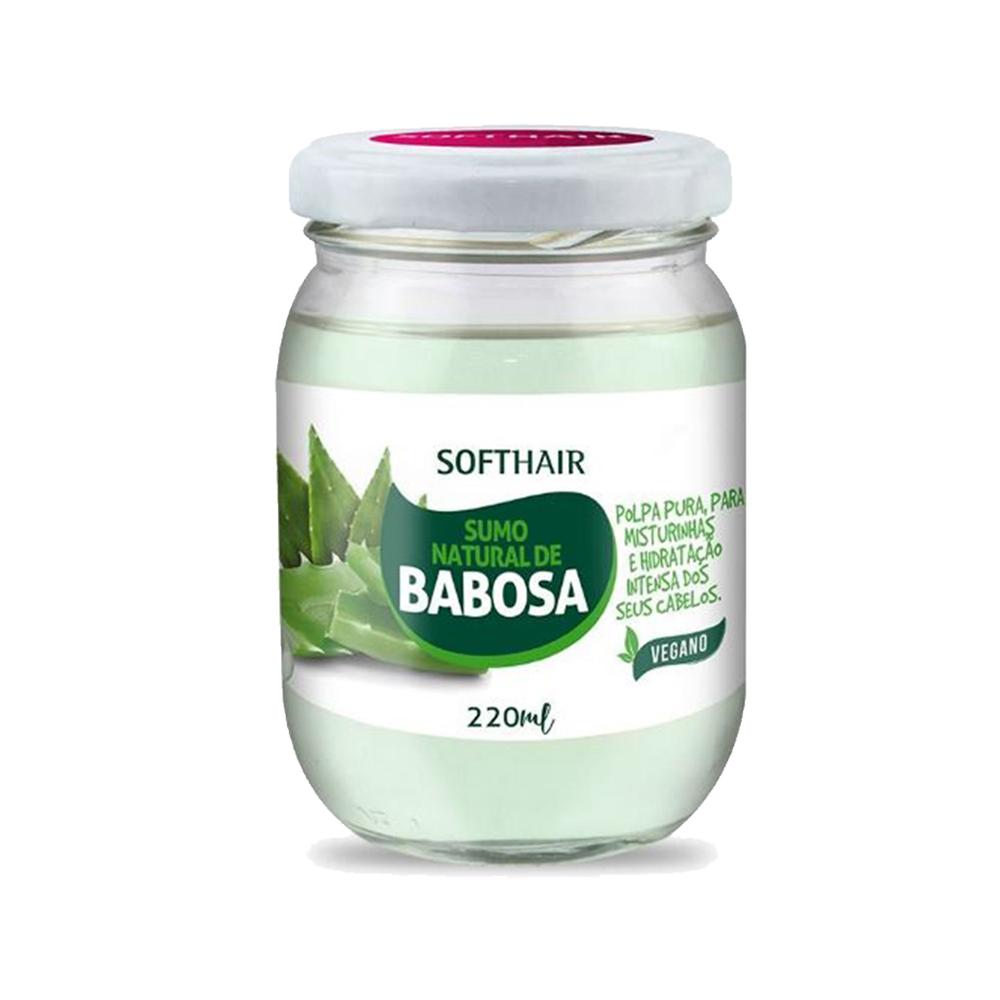 sumo natural de babosa softhair 220ml un