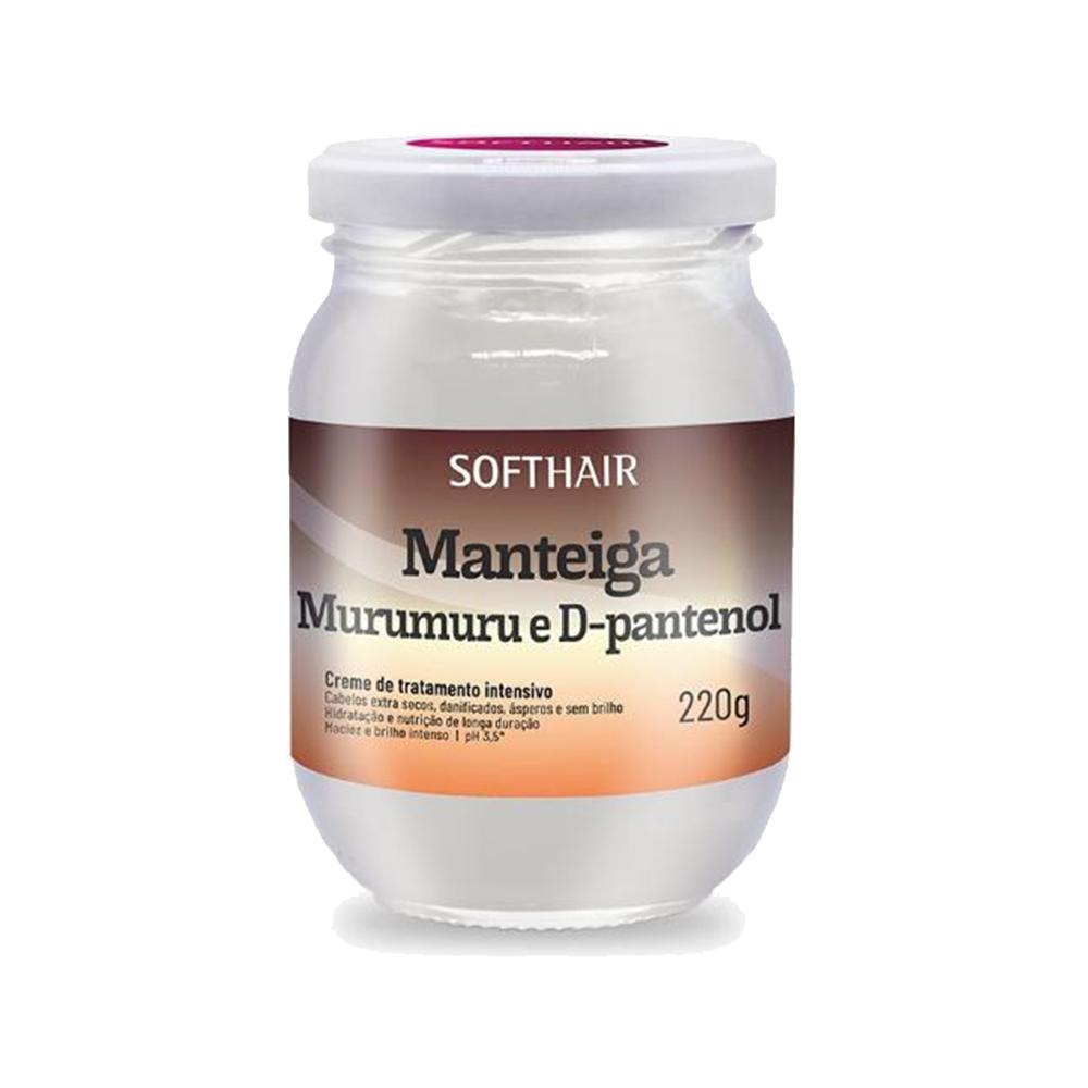 manteiga softhair murumuru e d-pantenol 220g un